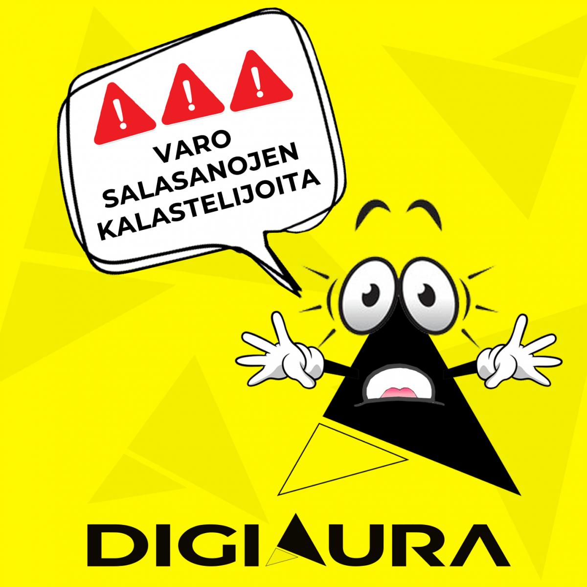 Varo huijausviestejä, pysy valppaana! | DigiAura.fi